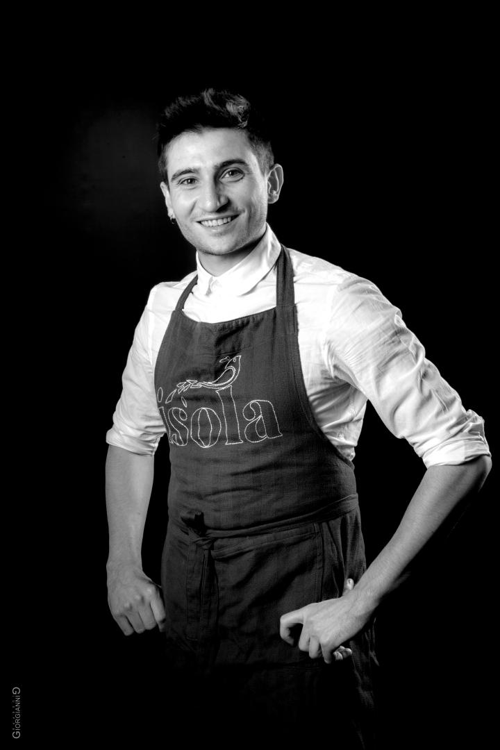 Portrail de restaurateur italien à Paris